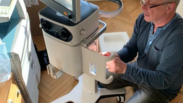 """2 ventilatoare ultra-performante, vitale pentru pacienții cu coronavirus, donate spitalelor prin """"Donează pentru linia întâi"""" - Imaginea 3"""