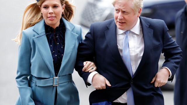Veste excelentă pentru Boris Johnson. Premierul britanic și logodnica sa au devenit părinți. VIDEO