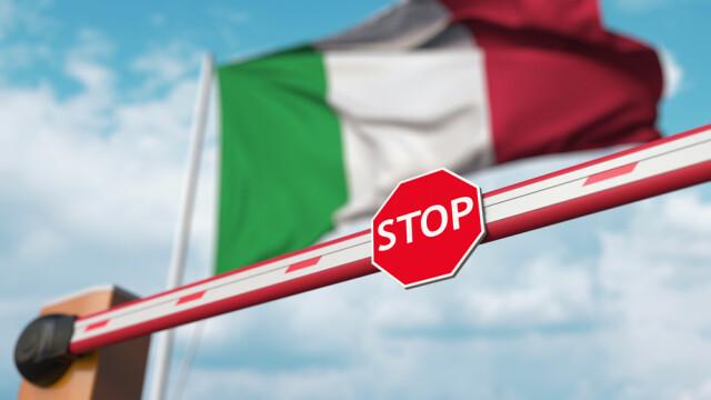 Italia a scurtat carantina la cinci zile pentru vizitatorii din 30 de ţări, inclusiv din România