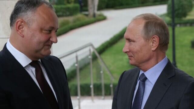Igor Dodon anunță că Vladimir Putin a decis să doneze R. Moldova 180.000 de doze Sputnik V. Care a fost condiția