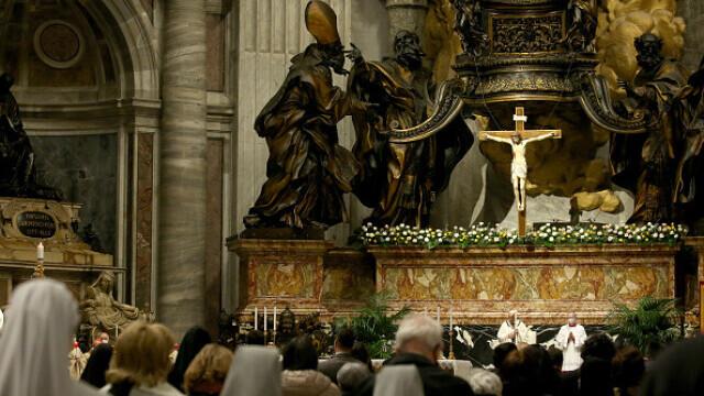 Papa Francisc, la Slujba de Înviere - 2