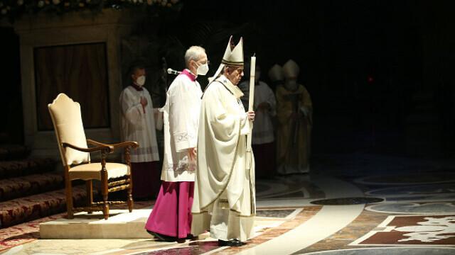 Papa Francisc, la Slujba de Înviere - 3
