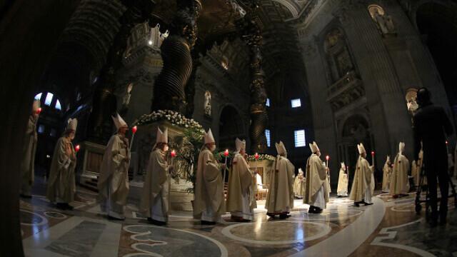 Papa Francisc, la Slujba de Înviere - 6