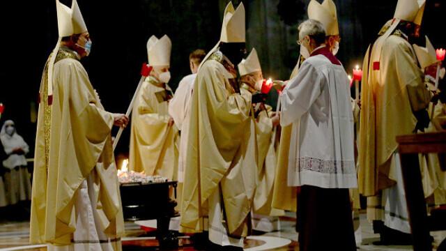 Papa Francisc, la Slujba de Înviere - 7