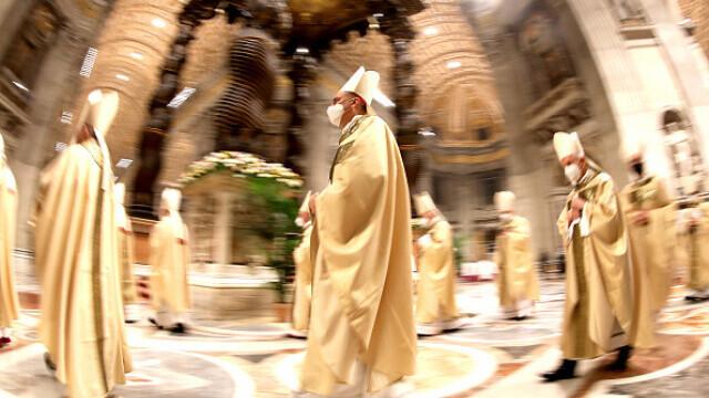 Papa Francisc, la Slujba de Înviere - 8