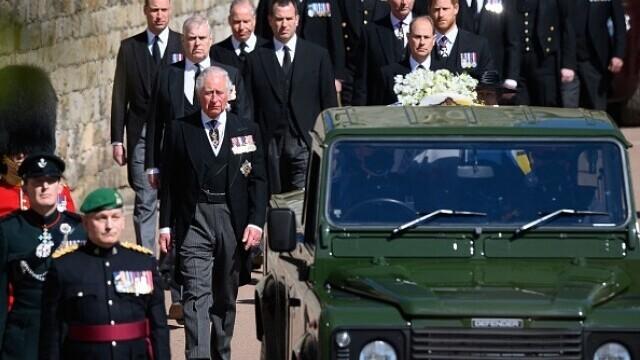 Prințul Philip a fost înmormântat - 3