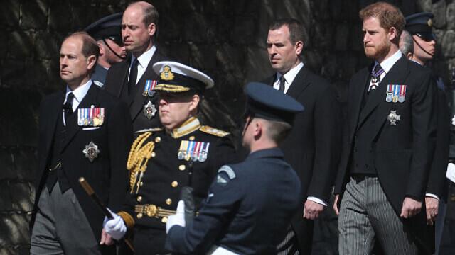 Prințul Philip a fost înmormântat - 5