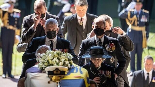 Prințul Philip a fost înmormântat - 8