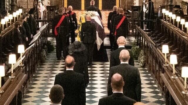Prințul Philip a fost înmormântat - 10
