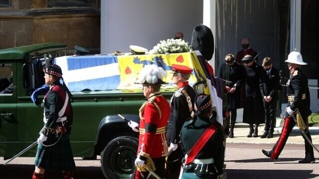 Prințul Philip a fost înmormântat - 13