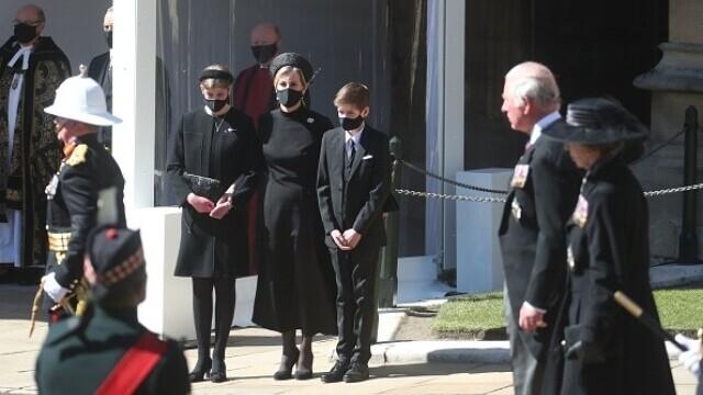 Prințul Philip a fost înmormântat - 17