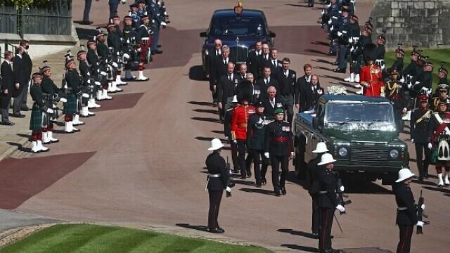 Prințul Philip a fost înmormântat - 19