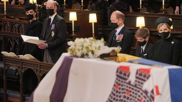 Prințul Philip a fost înmormântat - 21