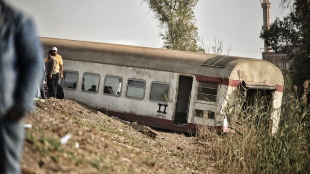Tren deraiat în Egipt - 3