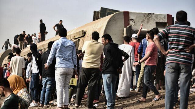 Tren deraiat în Egipt - 4