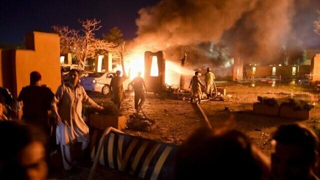 Atac cu bombă la un hotel de lux din Pakistan