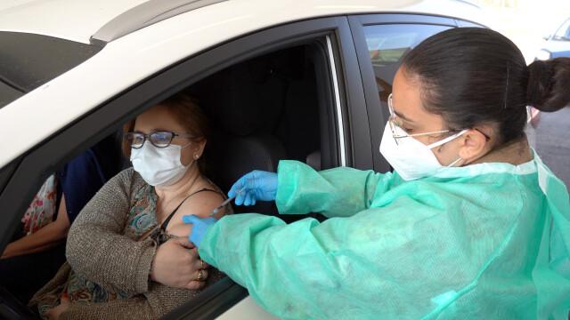 Prefectul Capitalei a anunţat că vor fi deschise centre drive-through de vaccinare împotriva Covid-19