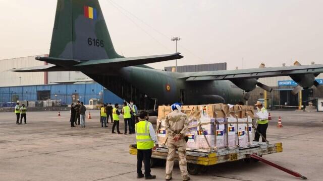 România ajută India în criza medicală provocată de Covid. 75 de butelii de oxigen, donate