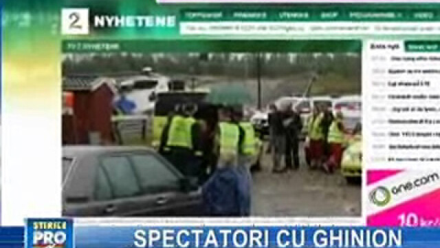 Norvegia: cursă de raliu încheiată tragic pentru 100 de spectatori!
