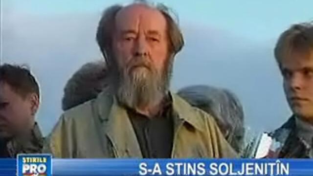 S-a stins Soljeniţîn, laureat al premiului Nobel - ştiri externe pe scurt