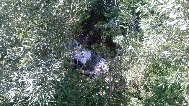 4 suporteri stelisti au cazut in gol cu masina 30 de metri. Au supravietuit