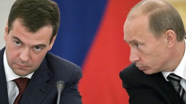 Medvedev si Putin