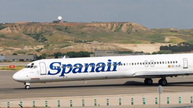Accident aviatic in Spania