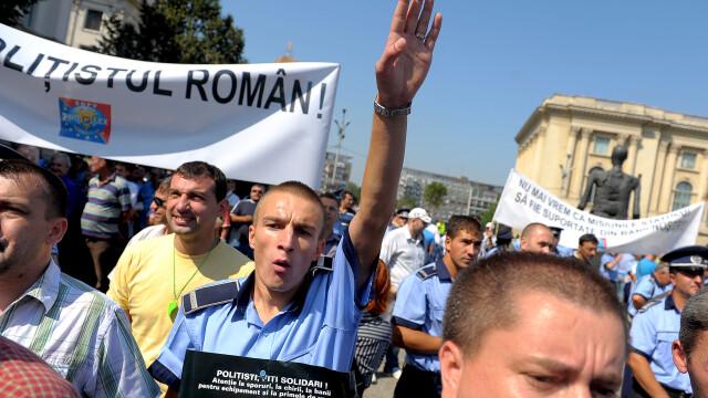 La discutii cu Basescu, politistii au inceput sa se certe intre ei!