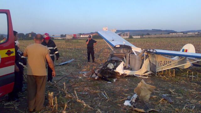 Avion prabusit langa Targu Mures! Pilotul, in stare grava la spital - Imaginea 8