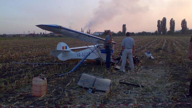 Avion prabusit langa Targu Mures! Pilotul, in stare grava la spital - Imaginea 10
