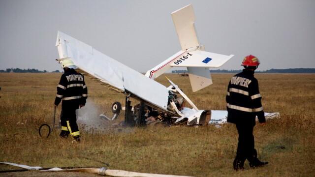 Aripi frante pentru totdeauna! Avion prabusit la Costesti - Imaginea 2
