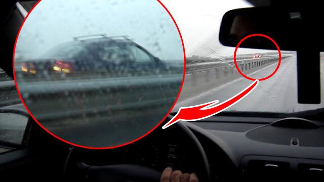 Singur impotriva tuturor! Pe contrasens, pe Autostrada Bucuresti-Pitesti! - Imaginea 1