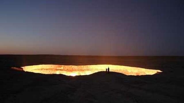 Craterul Darvaza, Turkmenistan