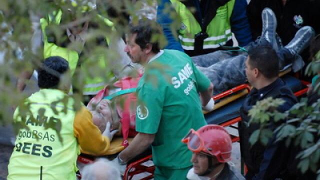 O cladire din Buenos Aires s-a surpat din cauza unui santier din apropiere