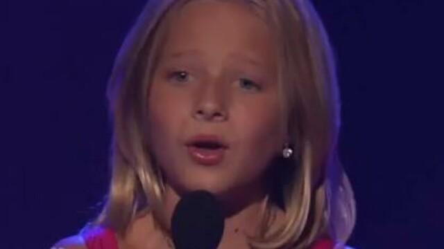 E geniala! America a ramas muta! La 10 ani are vocea unei soprane