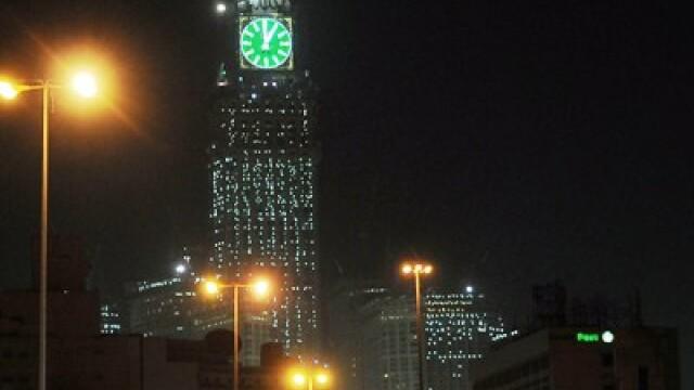 Arabii vor sa fure timpul! Iata cel mai mare ceas din lume, la Mecca