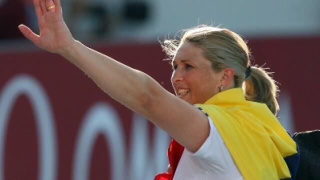 Nicoleta Grasu a luat bronzul la Londra cu o aruncare de 61,78 m