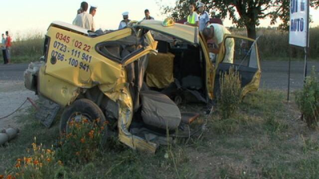 Accident grav in Mures. Trei oameni au murit si doi sunt grav raniti