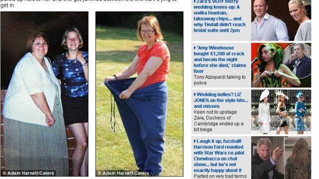 """""""Eram atat de grasa incat nu incapeam intr-o toaleta publica"""". Motivul pentru care a slabit 70 de kg"""