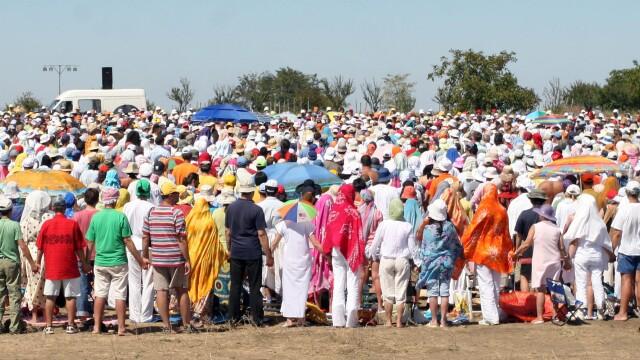 400 de adepti MISA au format spirala Yang la Costinesti. Au fost \