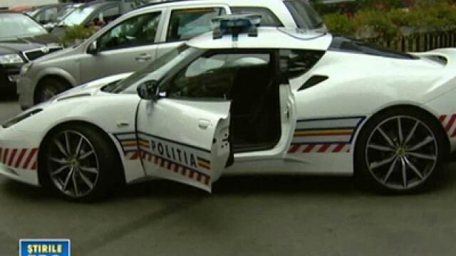 Politistii gonesc pe urmele tale cu 280 km/h, intr-un Lotus de 76.000 de euro.Prinde \