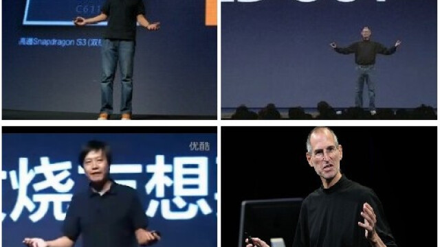 Lei Jun si Steve Jobs
