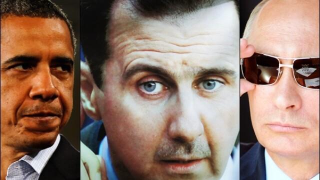La loc comanda. Rusia spune NU plecarii presedintelui sirian de la putere, ceruta de SUA