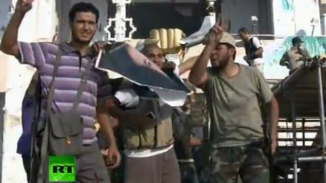 A cazut si ultima reduta la Tripoli. Rebelii au intrat in resedinta lui Ghaddafi. VIDEO