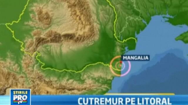 Surpriza neplacuta pentru turistii de pe litoral. Cutremur in Dobrogea de 3,7 pe scara Richter