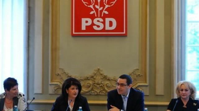 Victor Ponta la organizatia de femei a PSD