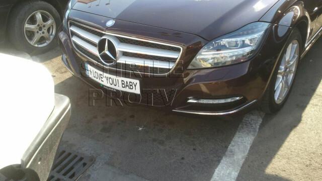 Mercedes placute