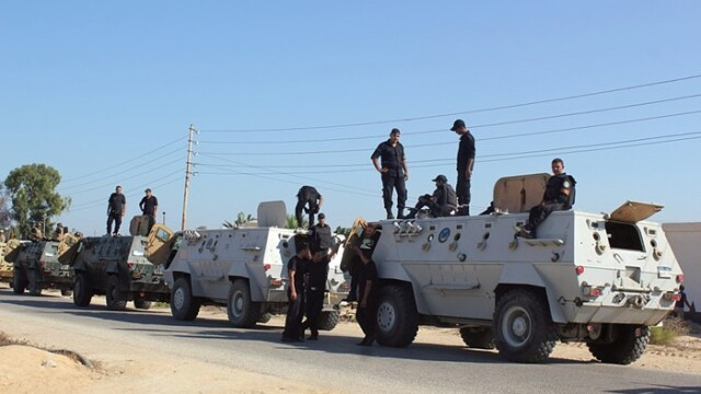 Israelul a autorizat o mobilizare militara egipteana in Sinai, anunta un oficial israelian