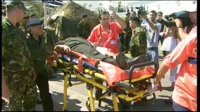 Ministrul Dobritoiu, despre militarul ranit: Instructia este grea. Exista un anumit grad de pericol