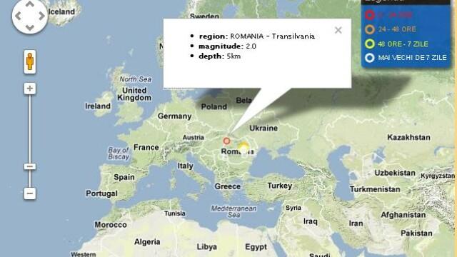 Cutremur de 2 pe scara Richter in Transilvania